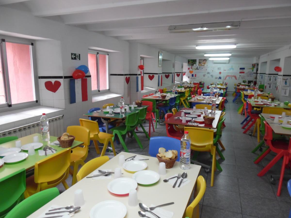 Fiesta de la Vichyssoise en el comedor - Colegio Sanbuenaventura